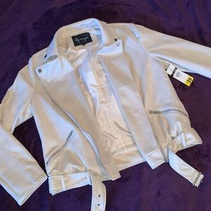 NWT Faux suede jacket